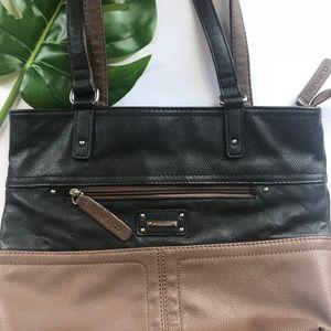 Stone & Co. Bag, Leather Shoulder Bag, Large Bag
